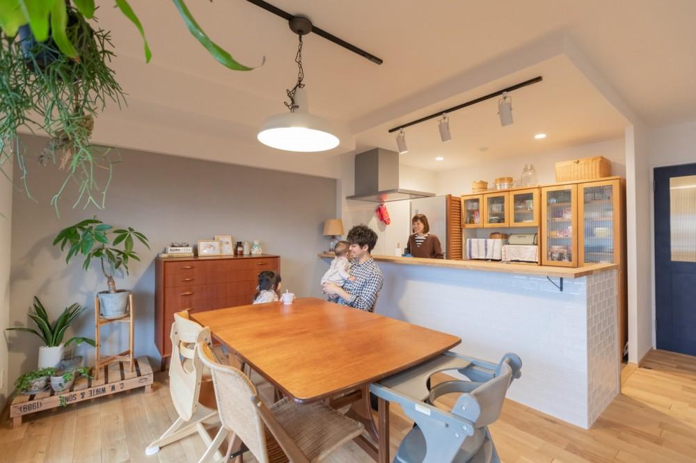 【豊中市】決め手はnextスタッフ!家具が映えるナチュラルテイストのお家。