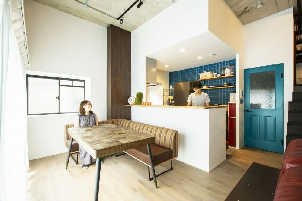 【堺市】ロフトにこだわった、天井の高い広々としたお家